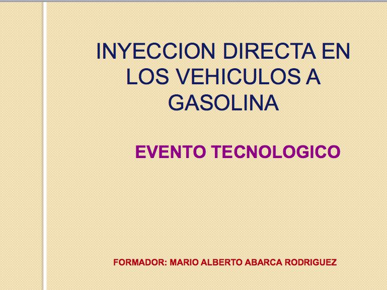 presentacion Inyecc Direct PowerP